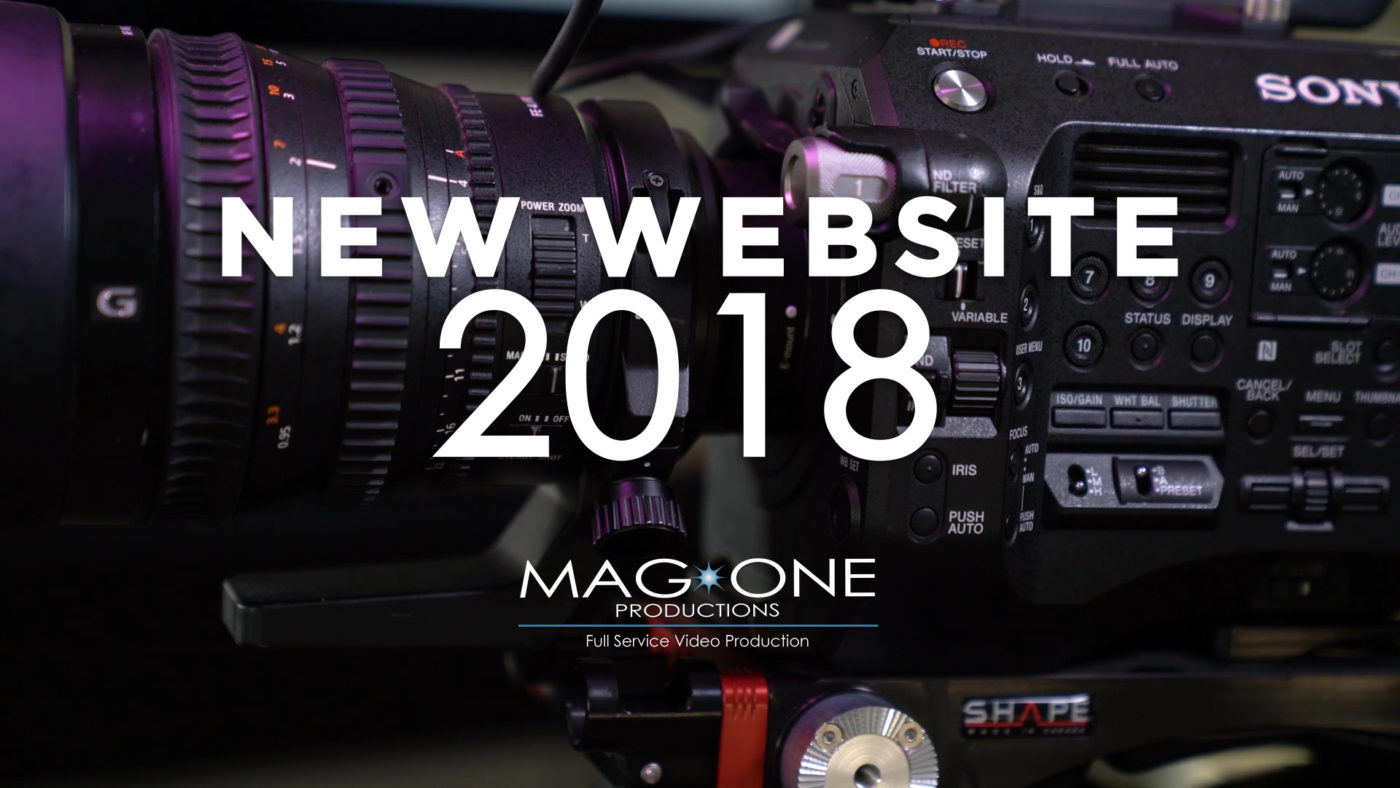Mag One Productions, 2018 Web Site
